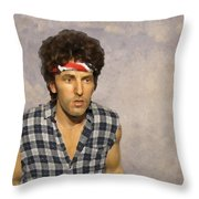 The Boss Throw Pillow by David Dehner