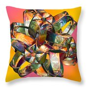 The Bow Throw Pillow