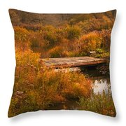 The Bridge To Nowhere Throw Pillow