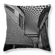 The British Museum I Throw Pillow