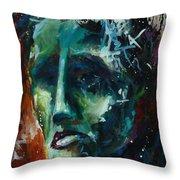 'the Burden' Throw Pillow