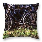 The Burren, County Clare, Ireland Throw Pillow