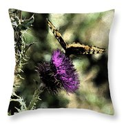 The Butterfly I Throw Pillow