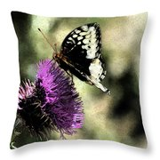 The Butterfly II Throw Pillow