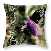 The Butterfly IIi Throw Pillow
