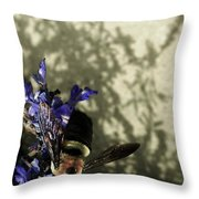 The Buzz Throw Pillow