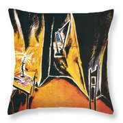 The Cabinet Of Dr Caligari Throw Pillow