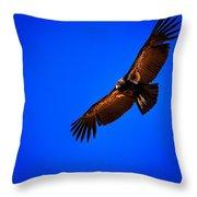 The California Condor Throw Pillow