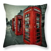The Call Of Yesteryear Throw Pillow