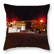 The Call Out Throw Pillow