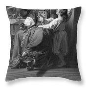 The Calling Of Samuel Throw Pillow