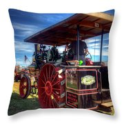 The Capp Family Case Engine 2 Throw Pillow