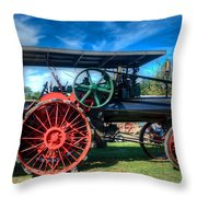 The Capp Family Case Engine Throw Pillow
