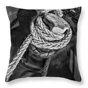 The Captain Knot Throw Pillow