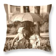 The Carnegie Kids Throw Pillow