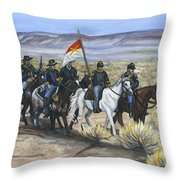 The Cavalry Throw Pillow
