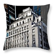 The Center Throw Pillow