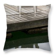 The Chairs Throw Pillow