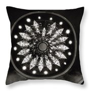 The Chandelier Throw Pillow