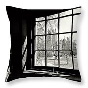 The Chapel View Throw Pillow