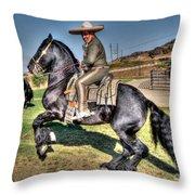 The Charro Throw Pillow