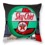 The Chief Throw Pillow