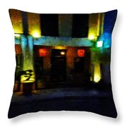 The Chinese Restaurant Throw Pillow