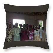 The Choir Throw Pillow