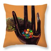 The Christmas Pickle Throw Pillow
