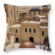 The Church Court Throw Pillow