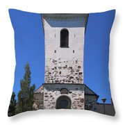 The Church Of Kuopio Throw Pillow
