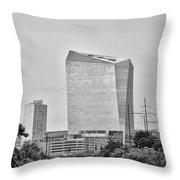 The Cira Center - Philadelphia Throw Pillow