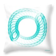 The Circle II Throw Pillow