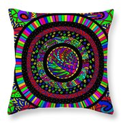 The Circle Throw Pillow