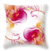 The Circle Of Love 1 Throw Pillow