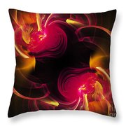 The Circle Of Love 2 Throw Pillow