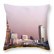 The City Of Warsaw Throw Pillow