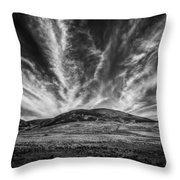The Claw Of Destiny Throw Pillow
