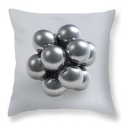 The Closest Possible Packing Of Spheres Throw Pillow