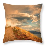 The Cloud Path Throw Pillow