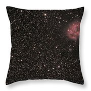 The Cocoon Nebula Throw Pillow