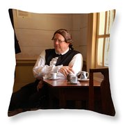 The Colonial Actor Throw Pillow