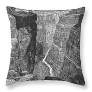 The Colorado River Throw Pillow