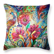 The Colors Of Day Throw Pillow