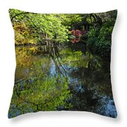 The Colors Of Spring Throw Pillow