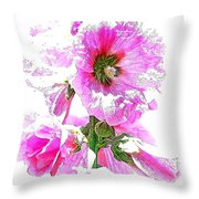 10989 The Colour Of Summer Throw Pillow