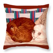 The Companions Throw Pillow
