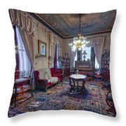 The Copper King's Music Room - Butte Montana Throw Pillow
