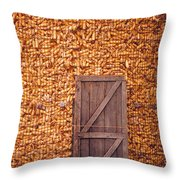 The Corn Crib Throw Pillow