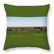 The Country Throw Pillow